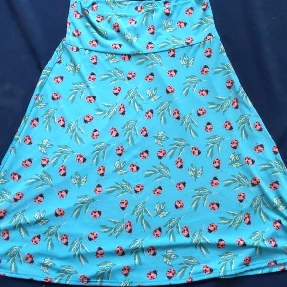Large LuLaRoe Azure Skirt
